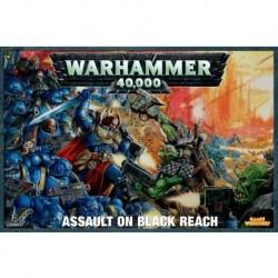 Коллекционный набор Warhammer 40K 5ой редакции: Битва за черный предел на русском языке + 2 полные книги правил