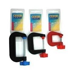 Зажим пластиковый с магнитом от Model Craft (50 мм)