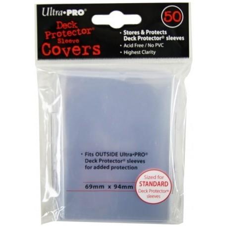 Прозрачные протекторы Ultra-Pro для ККИ (50 штук) 69х94 мм
