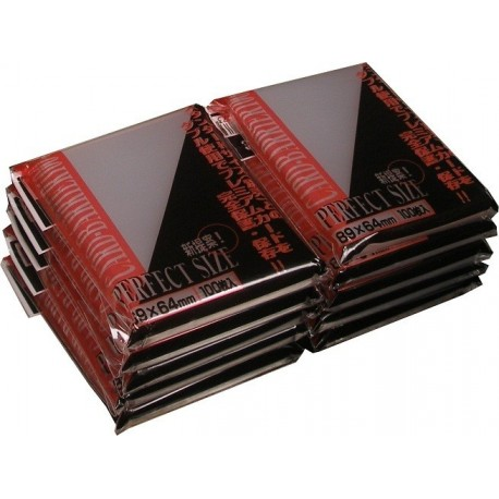 Прозрачные протекторы KMC Perfect Fit для ККИ (100 штук) 64х89 мм