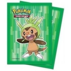 Протекторы Pokemon XY «Chespin» (65 шт.)