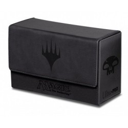 Dual Flip Deck Box - Magic Mana - Black