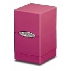 Коробочка Ultra-Pro Сатиновая Башня: Светло-розовая