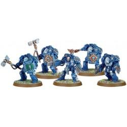Штурмовое Отделение Терминаторов Космодесанта (Space Marine Terminator Assault Squad)