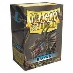 Протекторы Dragon Shield коричневые (100 шт.)