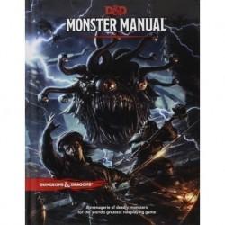 Основная книга D&D Next: Monster Manual (на английском)