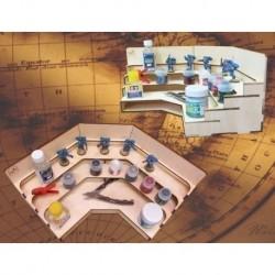 Угловой модуль-органайзер с полочками - MWP-0010-12