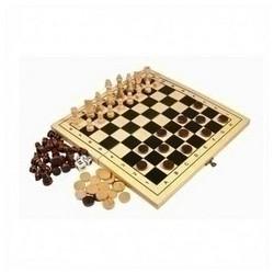 Игра 2 в 1 - Шахматы, нарды - Шк. 2