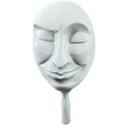 Белая маска Лицемер для игры Мафия