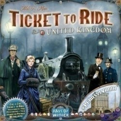 Ticket to Ride: Map Collection 5: United Kingdom & Pennsylvania (на английском)