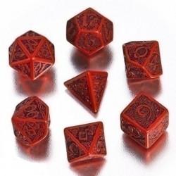 Набор кубиков «CELTIC 3D DICE» красный