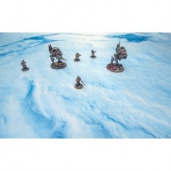 Игровое поле Iced Earth для Warmachine - 48x48