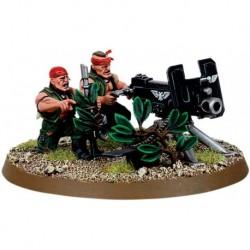Катачанская Команда Тяжелого Вооружения Имперской Гвардии (Imperial Guard Catachan Heavy Weapon Team)