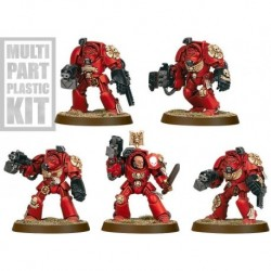 Взвод Терминаторов Космодесанта (Space Marine Terminator Squad)