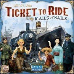 Ticket to Ride: Rails and Sails (на английском)