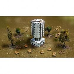 Cedrus Tower. Сборная модель здания