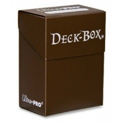 Пластиковая коробочка Ultra-Pro коричневого цвета