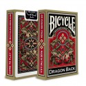 Карты для покера Bicycle Gold Dragon Back