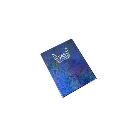 Альбом SAS Protection c 12 встроенными листами 3х3 (синий)