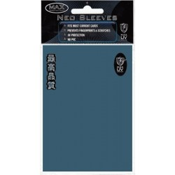 Протекторы MaxPro блестящие синие (50 шт.)