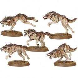 Стая Фенрисианских Волков (Space Wolves Fenrisian Wolf Pack)