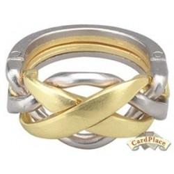 Cast puzzle Ring