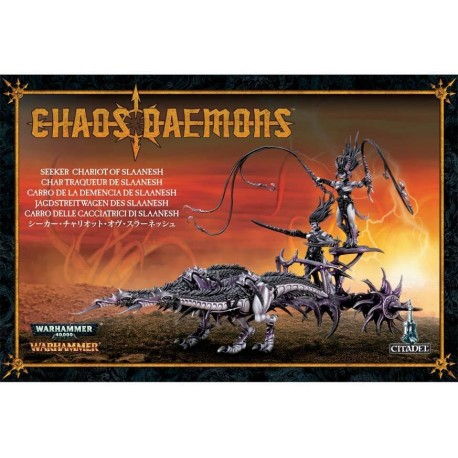 Daemons of Chaos Seeker Chariot of Slaanesh / Hellflayer of Slaanesh