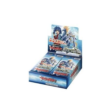 Cardfight!! Vanguard: Дисплей бустеров издания Vol.1 Descent of the King of Knights на английском языке